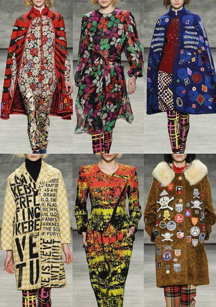 ... Trends, Aw15 Trends, Catwalk Trend Badges, Autumnwinter 20142015