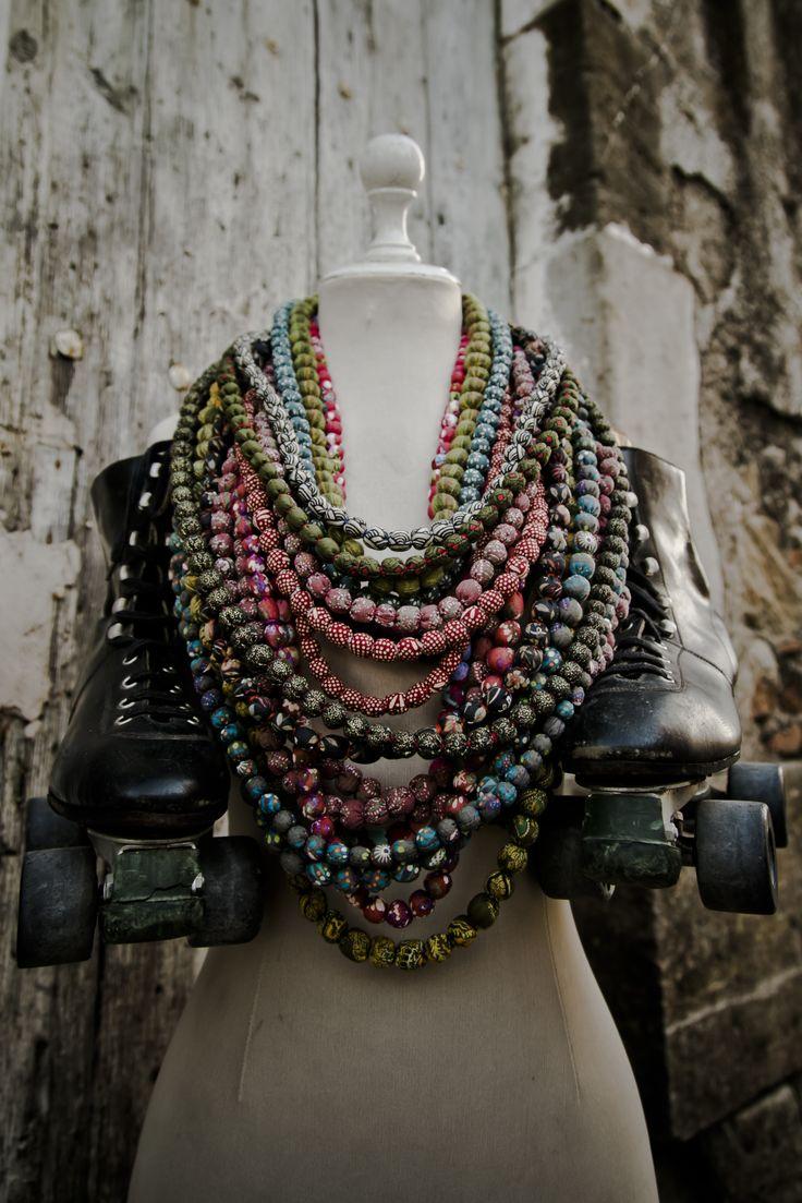 Machapu's Fabric Necklaces www.machpudesign.com