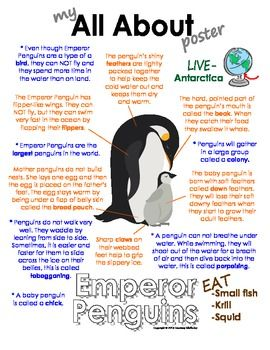 All About Emperor Penguins