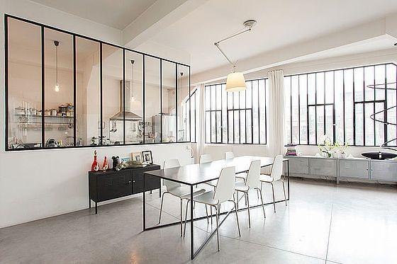 Vente Loft 2 Chambres Paris Seine St Denis Est Gtf Deco Industrielle Pinterest