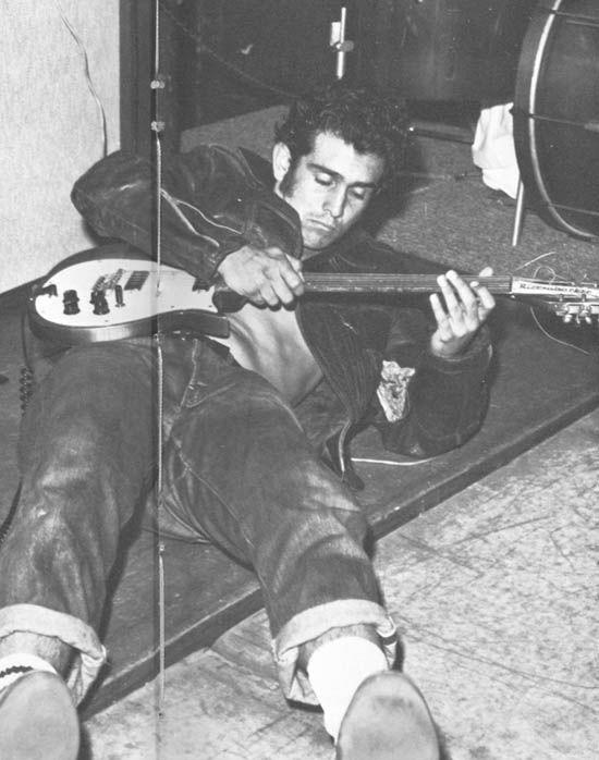 Early Butch -- Jerry Murphy doing Sleepwalk on guitar