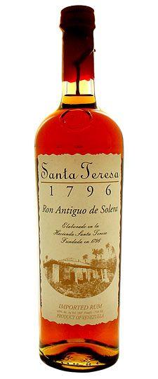 Santa Teresa 1796 Ron Antiguo de Solera Rum, Venezuela 750 ml