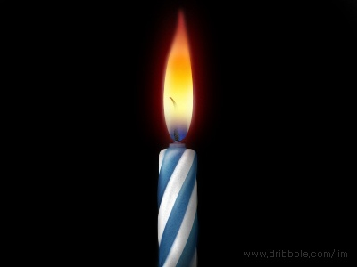 candle icon.  03.29.2013