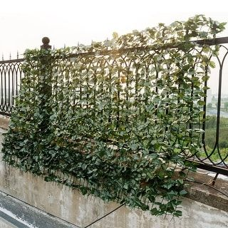 Shop for Costway 40''x95'' Faux Ivy Leaf Decorative Privacy Fence Screen Artificial Hedge Fencing. Free Shipping on orders over $45 at Overstock.com - Your Online Home Improvement Shop! Get 5% in rewards with Club O! - 24271139