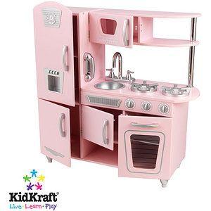 KidKraft Vintage Kitchen in Pink