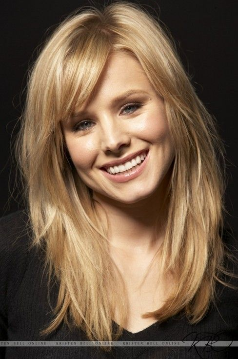 hairdos with bangs | Picture of Medium Hairstyles with Bangs and Layers/ listal