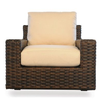Lloyd Flanders Contempo Glider Chair with Cushions Fabric: Tortuga Stripe Royale, High UV Polyester