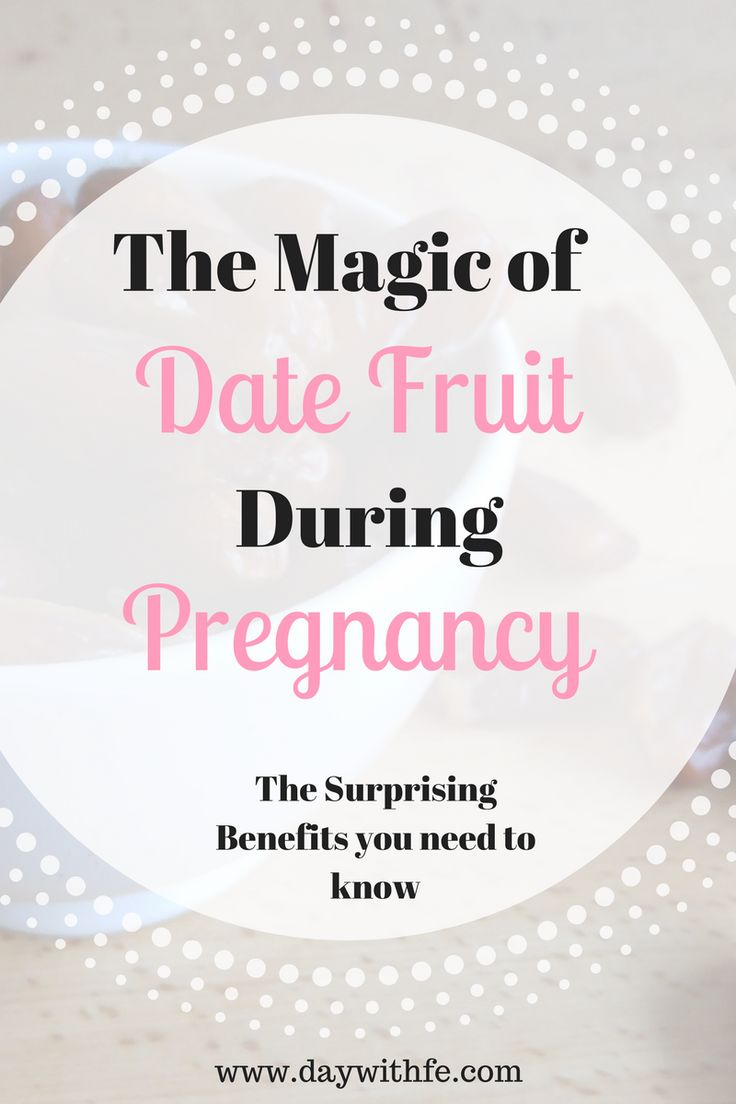 The 5 Surprising Benefits of consuming Date Fruit during Pregnancy. Also Includes a Healthy Pregnancy Muffin Recipe with Dates, Bananas, and Oats!