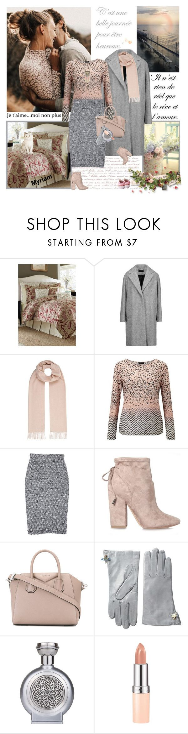 """""""JE T'AIME MOI NON PLUS"""" by lovemeforthelife-myriam ❤ liked on Polyvore featuring Croscill, Aime, rag & bone, Weekend Max Mara, Gerry Weber, Roland Mouret, Kendall + Kylie, Givenchy, Vivienne Westwood and Boadicea the Victorious"""