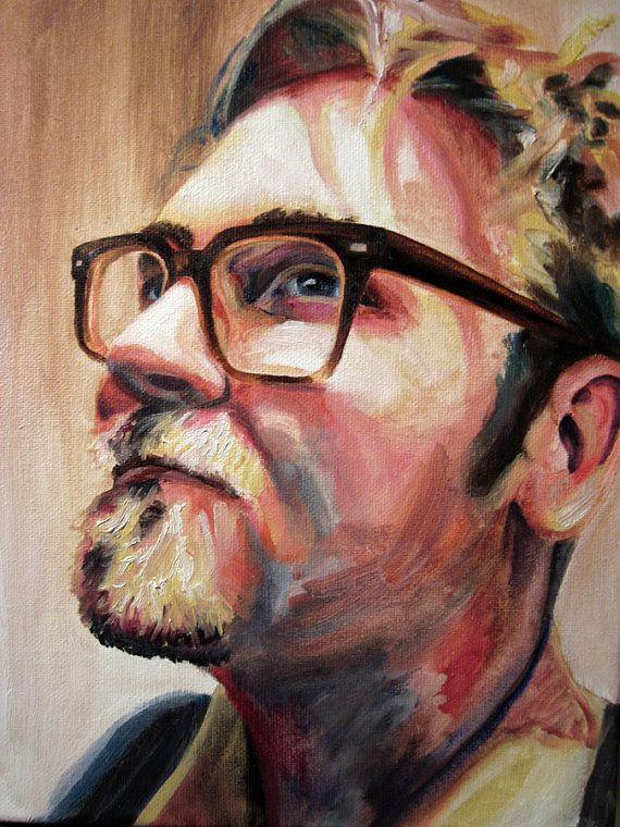 Custom Oil Painting Portrait by Krystal Booth
