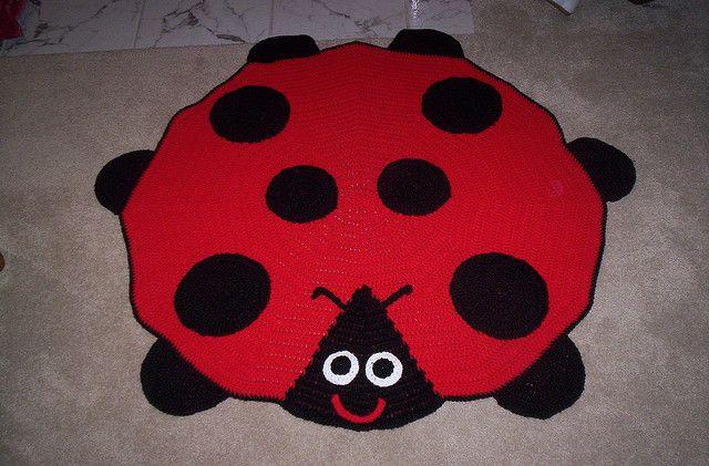 Yarnorgy S Ladybug Baby Afghan Ladybug Afghans And Ravelry
