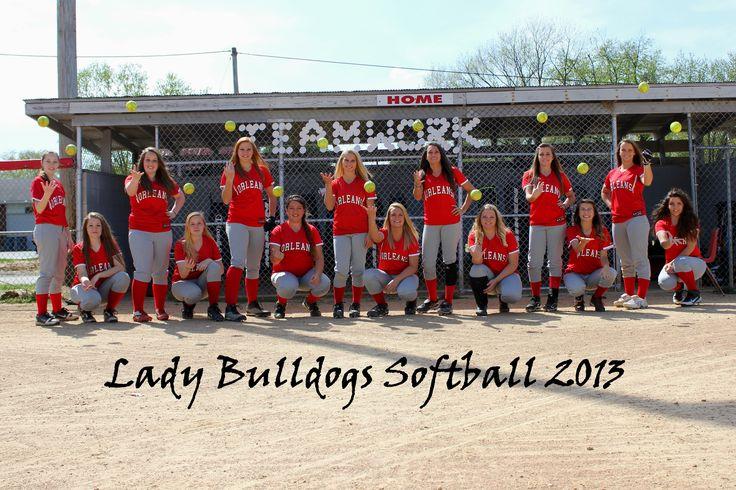 sports photography softball team