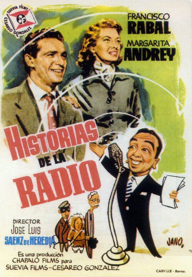 Historias de la radio (1955) España. José Luis Sáenz de Heredia. Comedia. Xornalismo - DVD CINE 111