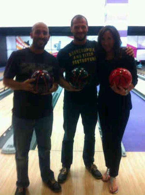 Jelena Jankovic la bowling