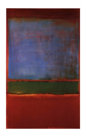Violet Green and Red, 1951 by Mark Rothko
