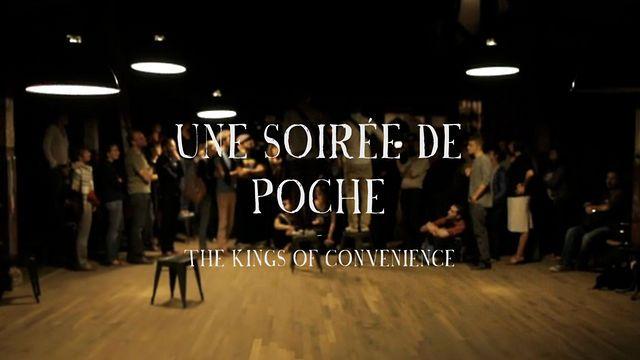 The Kings of Convenience - Soirée de Poche #11 by La Blogotheque // Includes a human-trumpet solo!