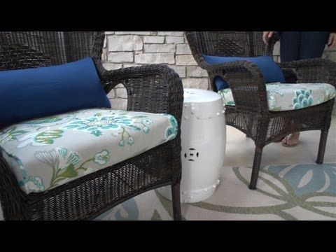 Excellent Diy Zippered Cushion Covers X 4 For Dinette