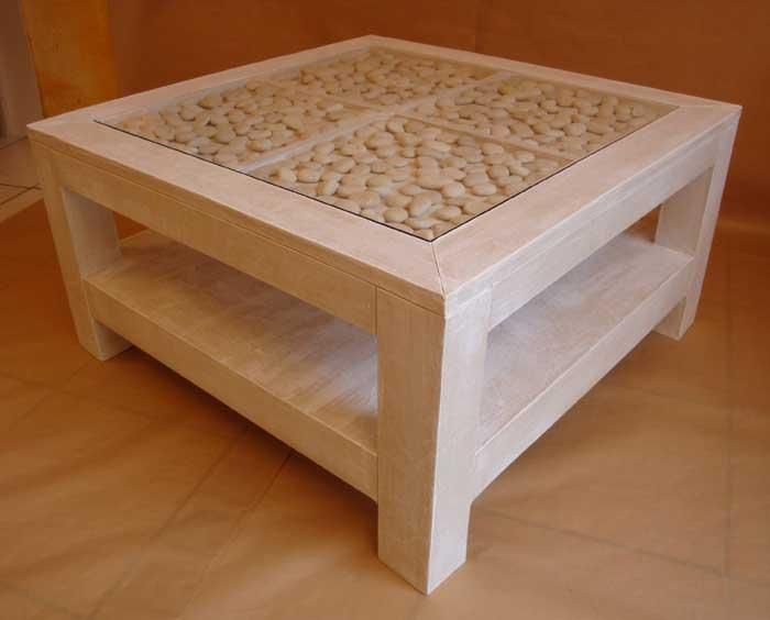 table basse en carton de Géraldine Calaci