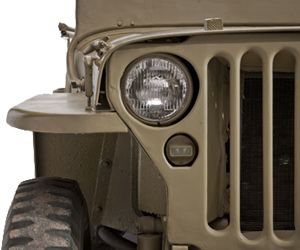 The Willys-Overland Jeep Willys MB is a perfect example of beautiful machine art.