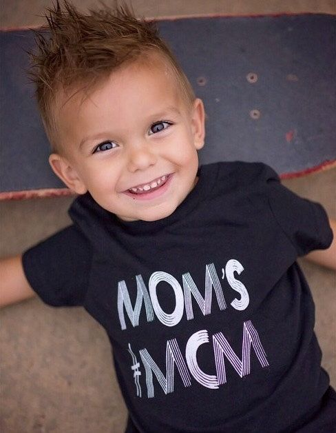 Mom's #MCM Shirt, Toddler t-shirt, Trendy kids clothes, Hipster kids clothes, Child shirt, Screen Printed Shirts, Graphic Tee, Kids Tee on Etsy, $18.00