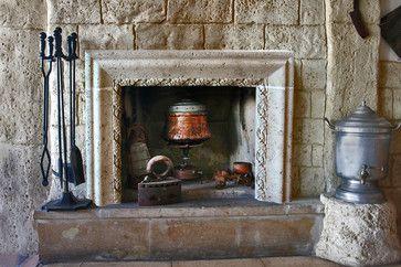 southwestern tile fireplace mantels - Google Search