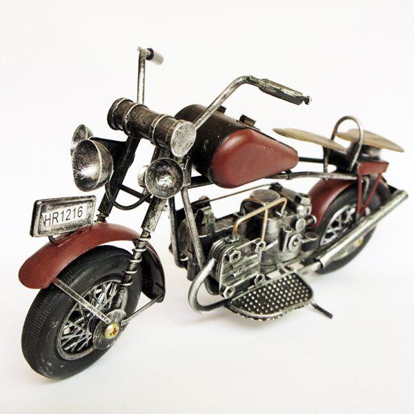 Металла домашнего офиса украшение мотоцикл ремесла украшения многоцветной антикварный магазин/бар/кафе украшения