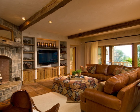 Leather Family Room Furniture Design  Pictures  Remodel  Decor and Ideas    page 6. 21 best Family Room Leather Coach images on Pinterest