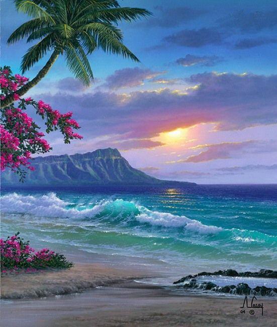Открытки море пейзажи, открытки