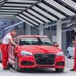 R8 en production - nouvelle usine Audi
