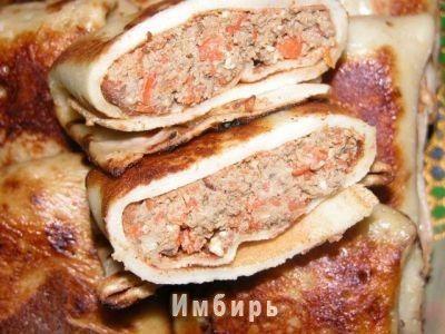 Блинчики с печенью : Простые рецепты для вкусной жизни