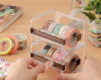 Distributeur de papier washi étui de rangement / par MagicalElement