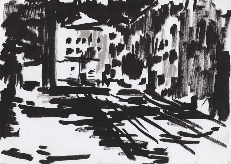 street in the night   ink on paper https://www.facebook.com/media/set/?set=a.205179392996247.1073741830.166050626909124&type=3