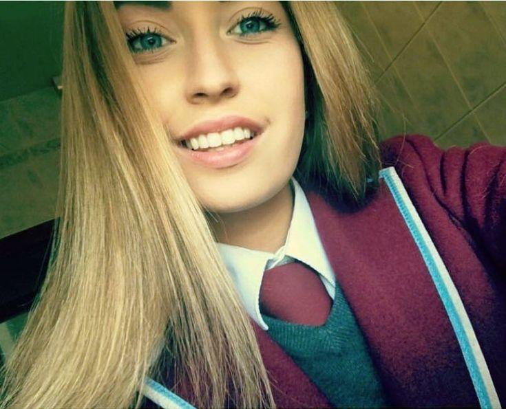 Selfie In Formal School Uniform