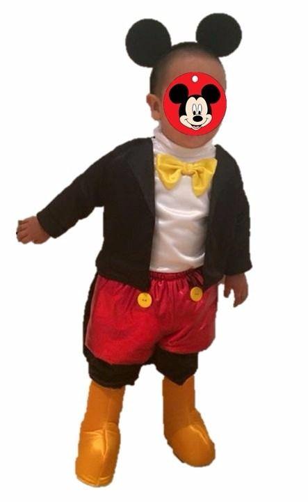 Resultado de imagen para disfraz mickey mouse niño