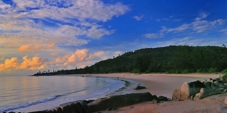 Located just eastwards of Sumatra, Bangka has some of Indonesia's most exotic beaches which is still within reasonably easy reach from Singapore.