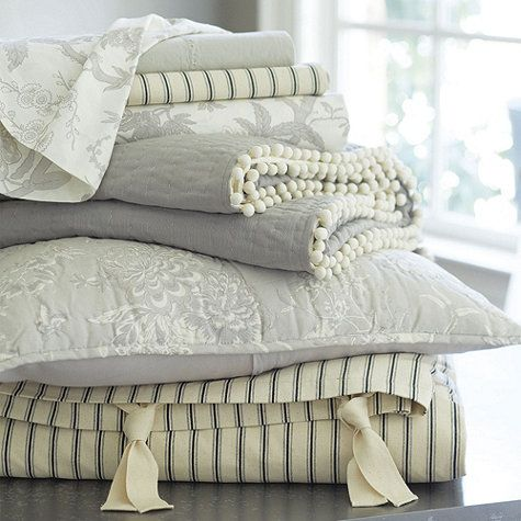 Jardin Toile Bedding Gray Toile And Toile Bedding