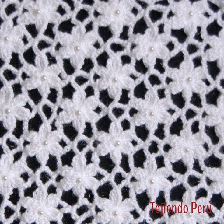 Crochet: video del paso a paso para tejer el punto Jardín de flores!