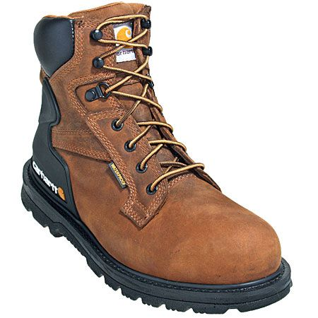 Carhartt Boots Men's Safety Toe Waterproof Bison Harness Work Boots CM