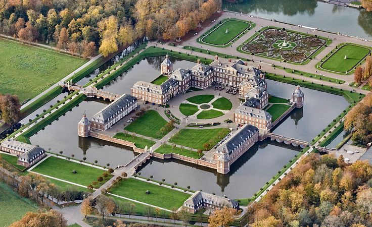 Schloss Nordkirchen, Germany, Haunted Castle - The castle was built between 1703 and 1734. According to the legend, at full moon and on certain foggy nights, a few people have reported seeing a luxurious carriage with stallions running through the grounds.