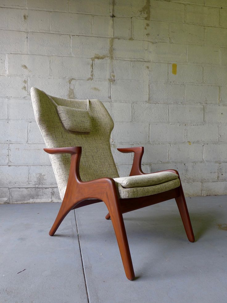 Adrian Pearsall styled Mid Century Modern Lounge Chair. 942 best Mid century modern images on Pinterest   Danish modern