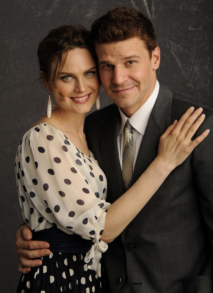 Emily Deschanel & David Boreanaz