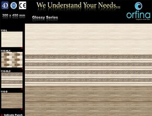 Orfina Ceramic - Digital Wall Tiles, Wall Tiles Manufacturers and Exporters in India
