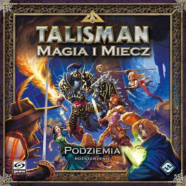 Gra planszowa Talisman Magia i Miecz: Podziemia