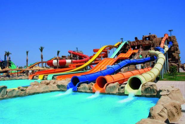Akvaparki V Sharm El Shejhe Sharm El Sheikh Water Slides Water Park