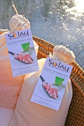 Solay Wellness 10 Lbs Bulk Coarse Himalayan Bath Salts by Solay Wellness. $69.00. Solay Himalayan Salt is an ancient treatment with amazing results for todayÆs health issues. Solay Himalayan Bath Salt Crystals contain 84 essential minerals, more than any other salt, such as magnesium, potassium, bromide, and calcium are readily absorbed into the skin. Naturally harvested from mineral-rich ocean waters that dried and crystallized 250 million years ago. Natural Hi...