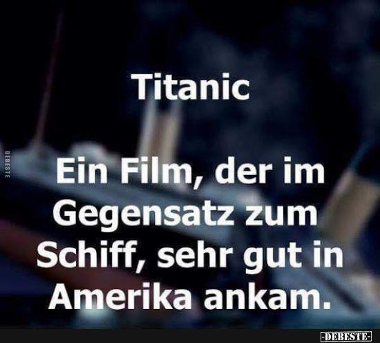Titanic – Ein Film, der im Gegensatz zum Schiff