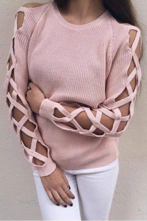 Rafaella Pink Knit Top
