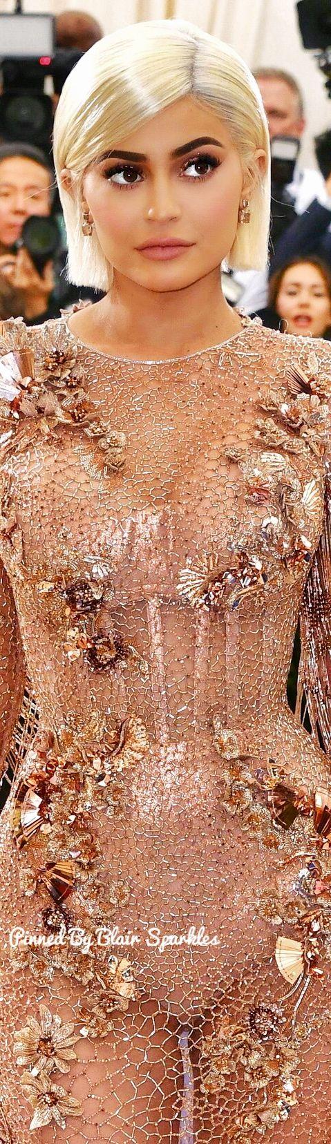 Kylie Jenner at Met Gala 2017 ♕♚εїз | BLAIR SPARKLES |