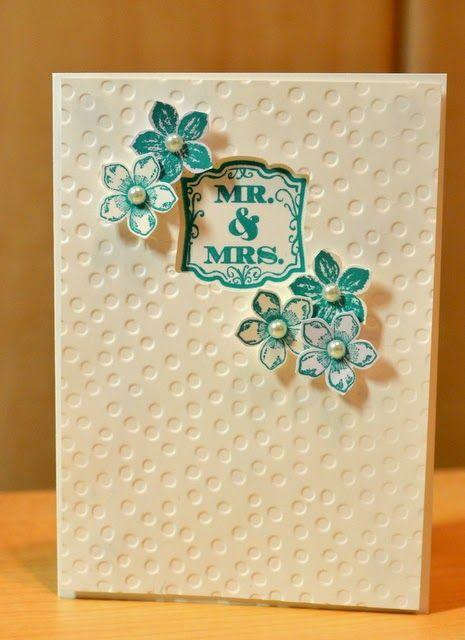 JanB Handmade Cards Atelier: Wedding Card