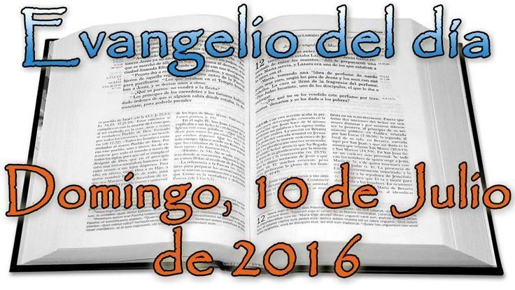 Evangelio del día (Domingo, 10 de Julio de 2016)